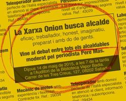 Debat d'alcaldables de Sabadell (Xarxa Onion)
