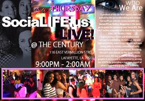 SociaLIFE.us LIVE! A New Upscale & Cosmopolitan Style...