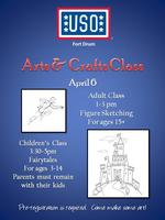 USO Fort Drum - April Arts & Crafts Class