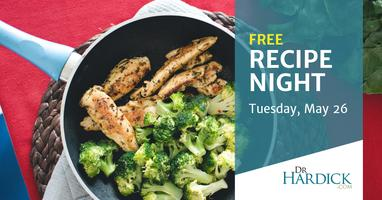 Maximized Living Recipe Night