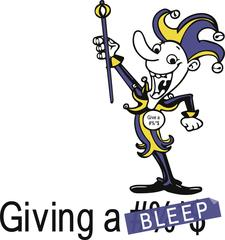 "A Production of ""Giving a Bleep"" logo"