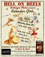 Calendar Girls - a Hell on Heels Burlesque Revue Production