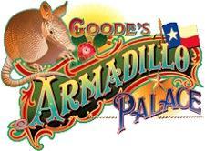 Goode Company BBQ's Armadillo Palace logo