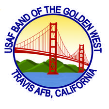 United States Air Force Band of the Golden West logo