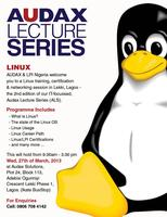 Audax Lecture Series 02 (Linux OS)