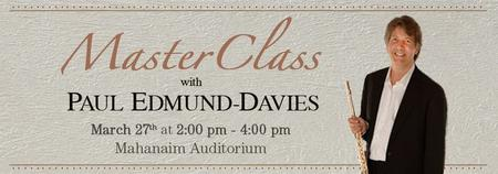 Master Class with Paul Edmund-Davies