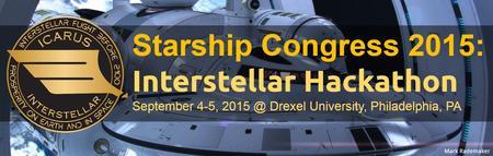 Starship Congress 2015: Interstellar Hackathon