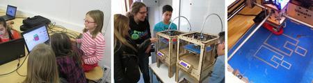 FabLab Kids: Workshop Einführung in 3D Druck für...
