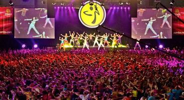 Zumba® Dance Entertainment Party at the World Fitness...