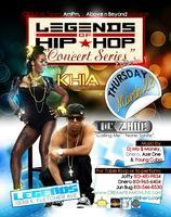 Khia & Lil Zane Live in Concert at Legends Sports Bar