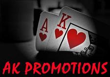 AK PROMOTIONS logo