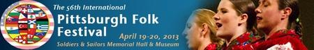 First Thursday April 4:  Pittsburgh Folk Festival &...