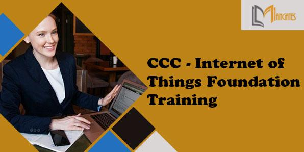 CCC - Internet of Things Foundation 2 Days Training in Detroit, MI