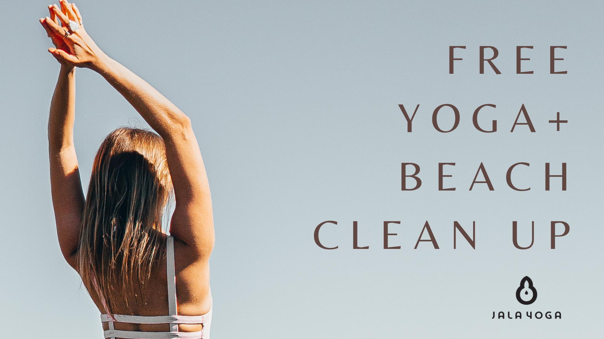 Free Yoga + Beach Clean Up
