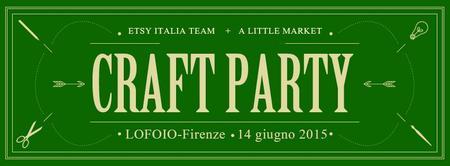 Etsy Italia Team + A Little Market Craft Party - LOFOIO