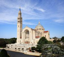 Basilica of the National Shrine of the Immaculate Conception logo