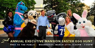Second Annual Executive Mansion Easter Egg Hunt