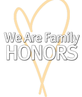 We Are Family HONORS 2013