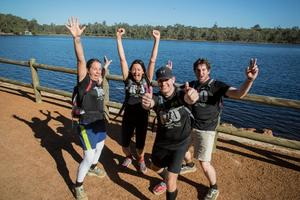 Oxfam Trailwalker Perth, Trial the Trail