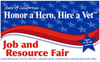 Honor a Hero - Hire a Vet Job and Resource Fair 2015...