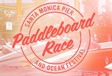 Paddleboard Race & Ocean Festival at the Santa Monica Pier logo