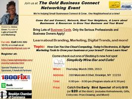 Gold Business Connect Networking Evening Event -...