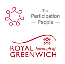 The Participation People, with the Royal Borough of Greenwich logo