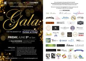 Charity Gala For Victims of Crime