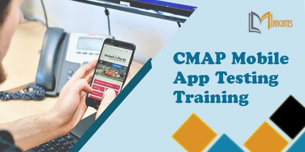 CMAP Mobile App Testing 2 Days Training in Philadelphia, PA