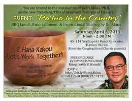 Pa'ina In The Country