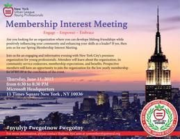 Membership Interest Meeting