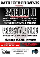 Battle Of The Elements: BEAT BATTLE x FREESTYLE RAP BATTLE