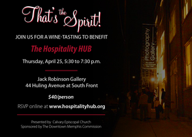That's The Spirit: A Wine-Tasting Benefit for the...