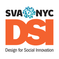 MFA Design for Social Innovation at SVA, NYC logo