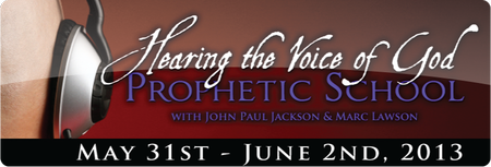 Hearing the Voice of God - PROPHETIC SCHOOL