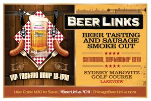 Beer Links Chicago (Beer Tasting with Sausage Smoke...