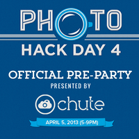 Photo Hack Day 4 Official Pre-Party Presented by Chute