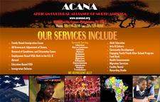 African Cultural Alliance of North America Inc. (ACANA) logo