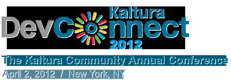 Kaltura DevConnect 2012