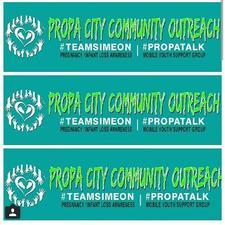 Propa City Commuinty Outreach logo