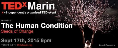 2015 TEDxMarin TALKS and Attendee Reception (DETAILS BELOW)