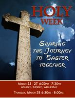 Holy Week: Sharing the Journey to Easter Together