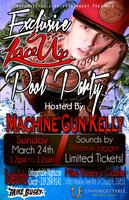 Machine Gun Kelly Hosts Exclusive Lace Up Pool Party