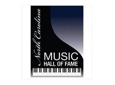 North Carolina Music Hall of Fame logo