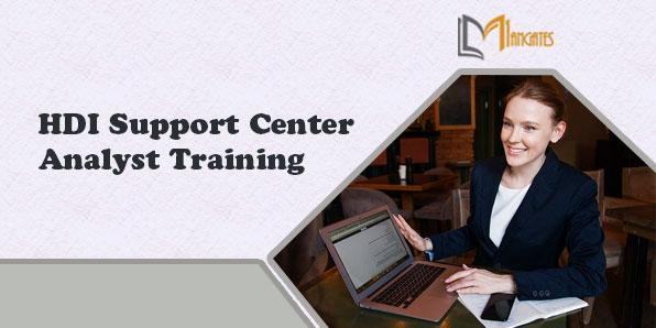 HDI Support Center Analyst 2 Days Training in Dallas, TX