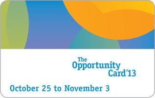 The Opportunity Card 2013