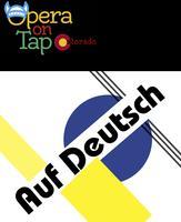 Opera on Tap at Syntax Physic Opera - Auf Deutsch