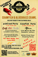 Crawfish & Bluegrass Crawl