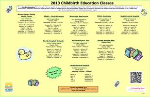 Childbirth Education Class--Florida Hospital-East Location