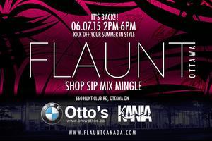 FLAUNT Ottawa premium fashion charity event